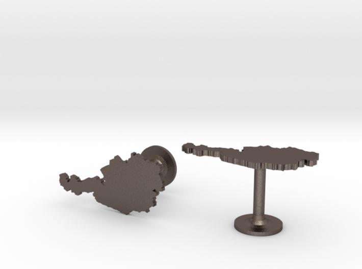 Austria Cufflinks 3d printed
