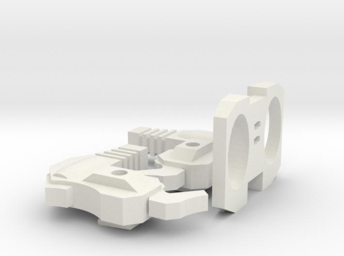 "Another Dimensional bots ""KWAGGA"" (parts set B) 3d printed"
