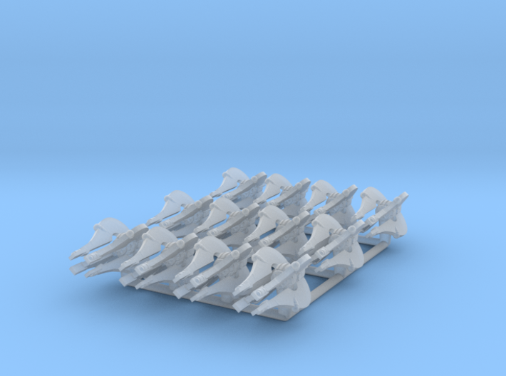 (Armada) 12x Chiss Clawcraft 3d printed