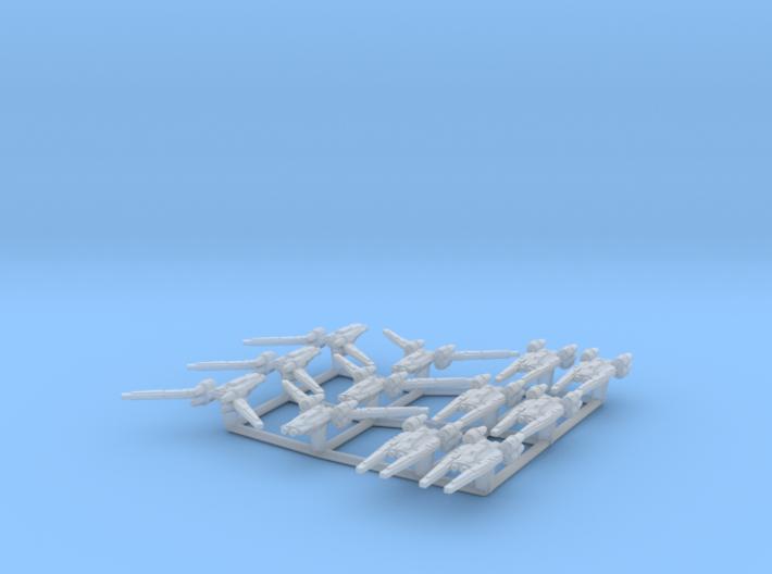 (Armada) 6x U-Wing (Closed) 6x U-Wing (Open) 3d printed