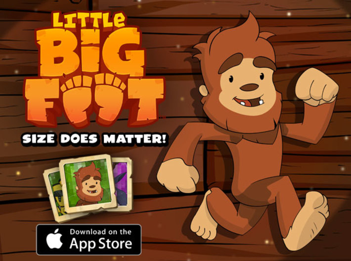 Little Bigfoot Yell Small 3d printed Download Little Bigfoot for Free!