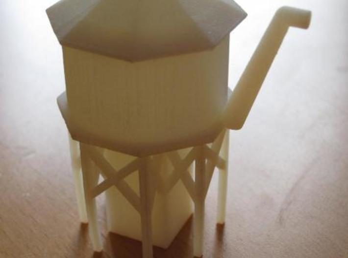 Water Tower - Z scale 3d printed Printed in WSF