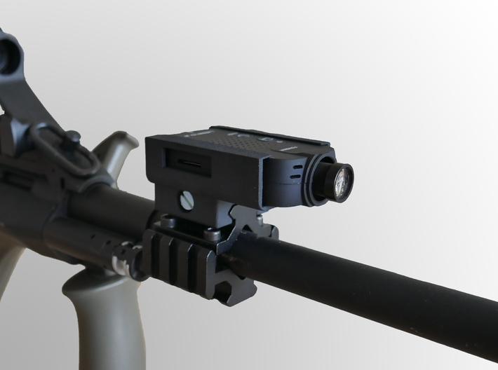 Foxeer Legend 2 Camera Picatinny Mount Scope Cam 3d printed