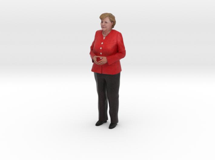 Angela Merkel 3D Model ready for 3d print 3d printed