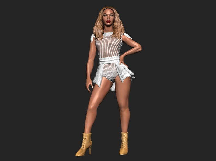 Beyonce 3D Model ready for 3d print 3d printed