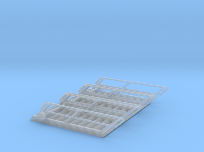 1:72 3x Stairs 10 3d printed