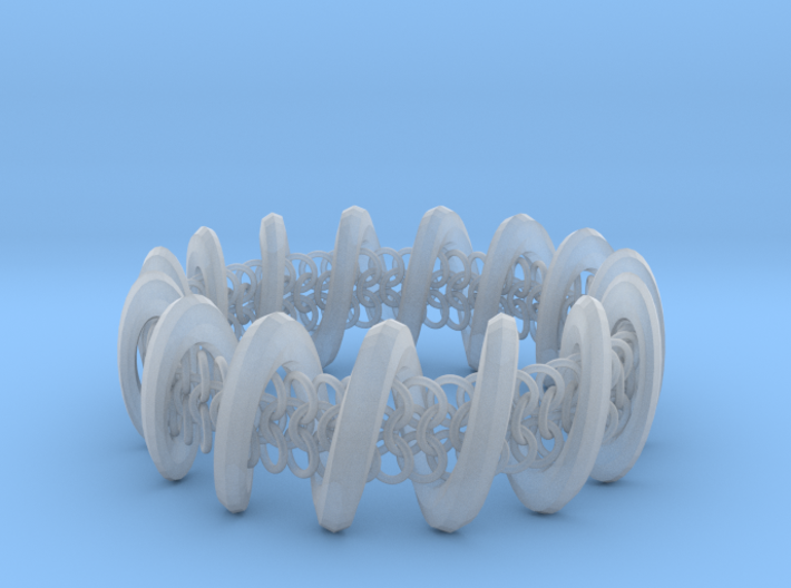 2.6in x .9in Trapped Chain 3d printed
