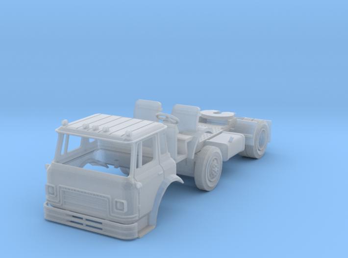 N-Scale IH Cargostar Tractor 3d printed