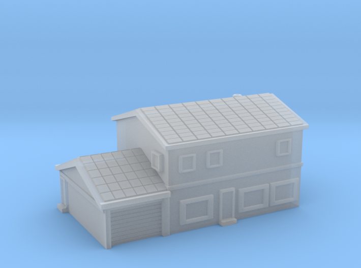 House 4 - 2 levels and garage 3d printed