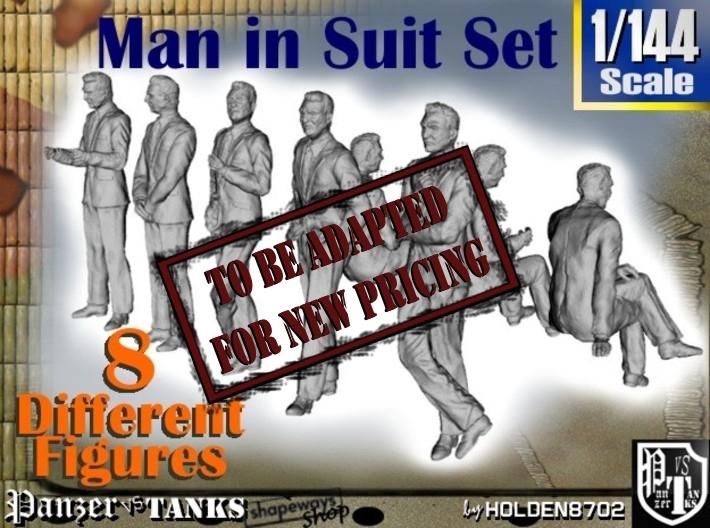 1-144 Man In Suit SET 3d printed