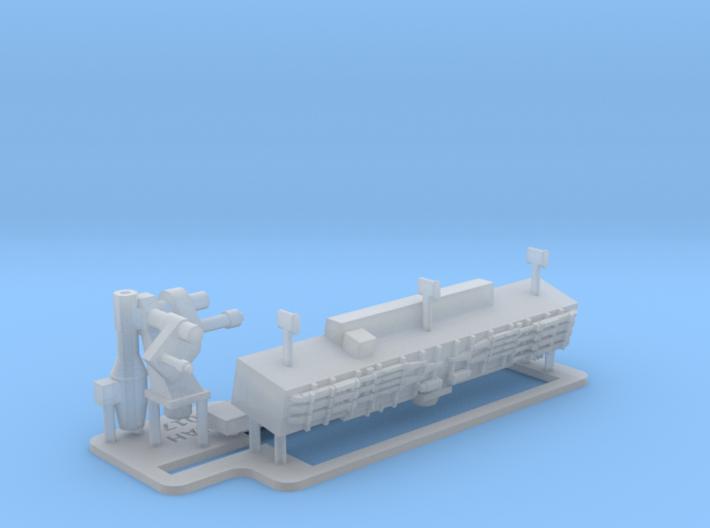Type 996 Radar 1/144 3d printed
