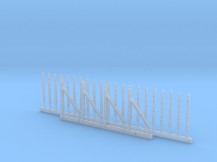 Concrete Fence Posts 3d printed