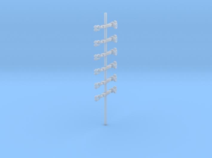 1/35 DKM Aerial Connectors 3d printed
