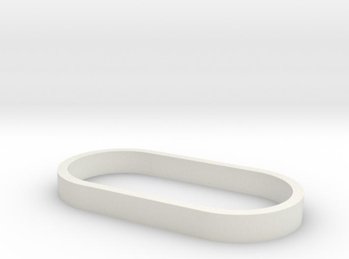 Parkhecke oval (Buchsbaum) 1:120 3d printed