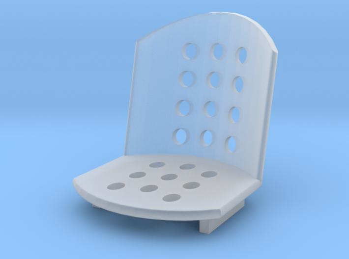1/18 Bomber seat 3d printed