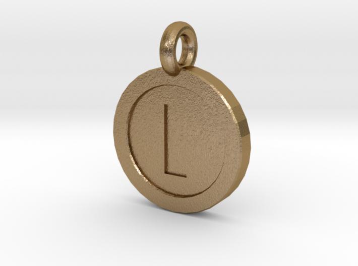 Mario Coin Pendant/Keychain 3d printed