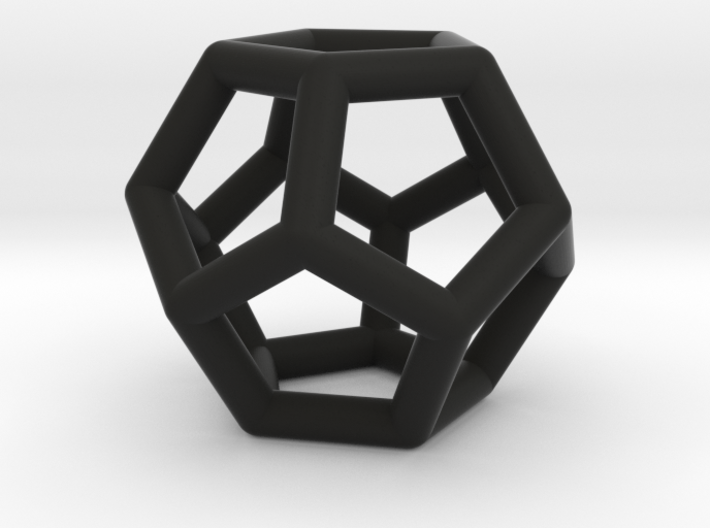 Dodecahedron Ornament 3d printed