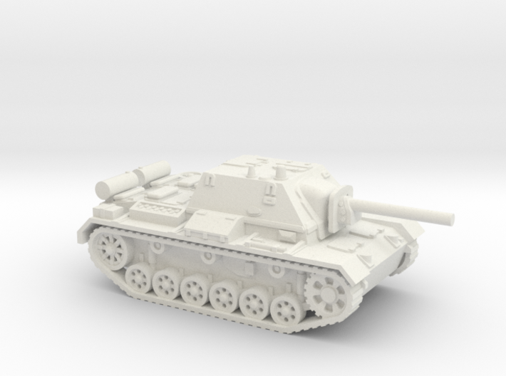 SU - 76i tank (Russian) 1/87 3d printed