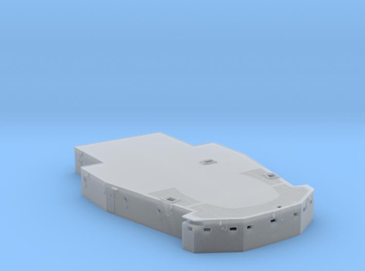 1/96 Bismarck Lower Mast Deck PART 2 3d printed