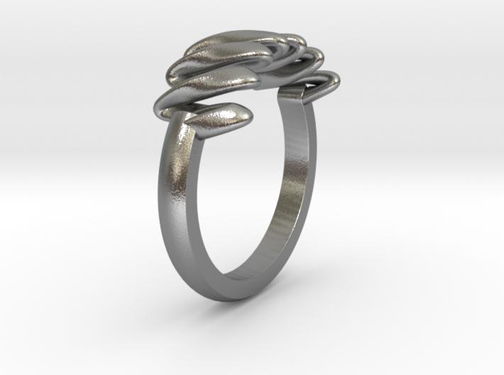 Ribbon Ring 3d printed