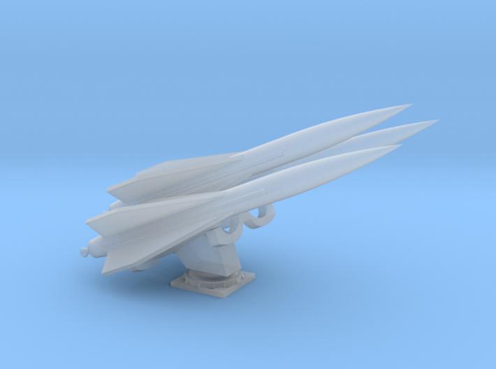 1/87 Scale M727 Hawk Missile Launcher Addon 3d printed
