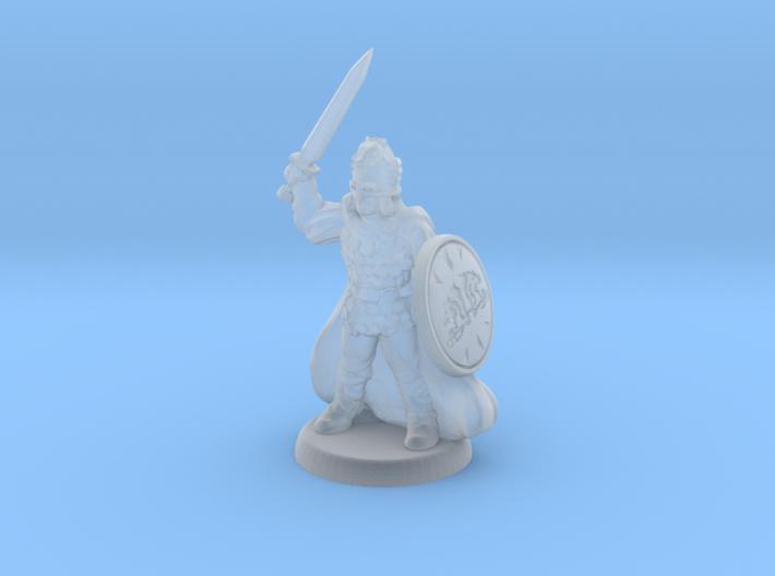 Sword warrior 3d printed