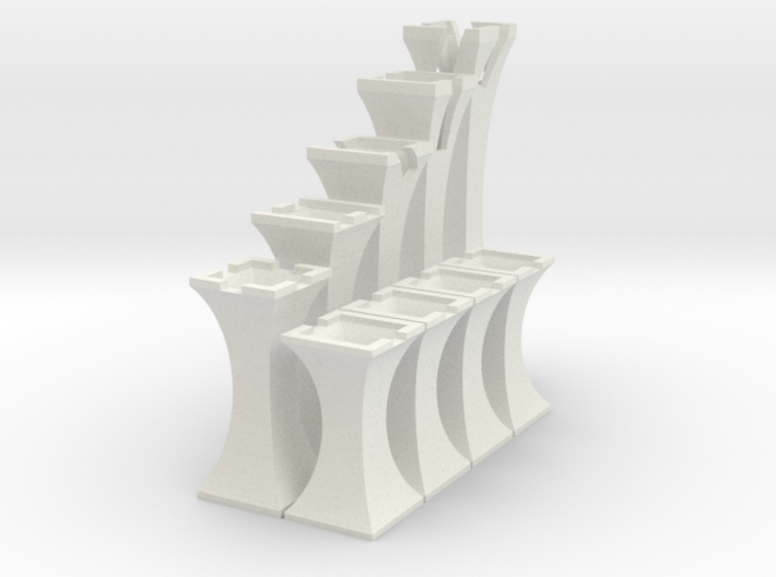 Simplistic Chess 3d printed