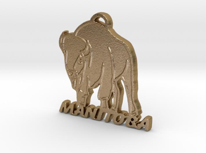 Manitoba Bison 3d printed