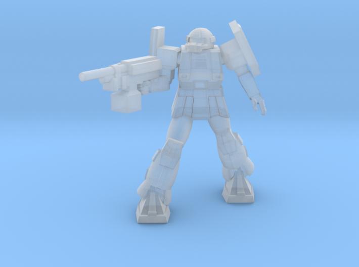 'Pug' A1A - Pugnator pose 5 3d printed