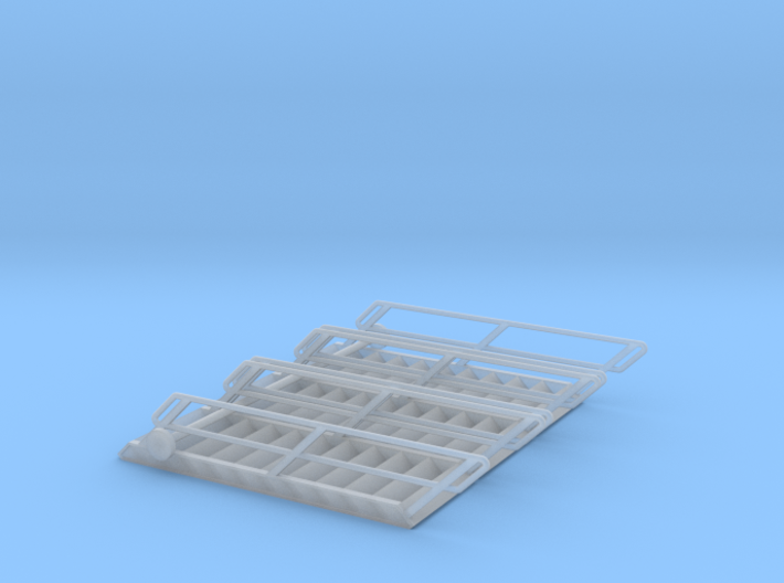 1:72 3x Stairs 11 3d printed