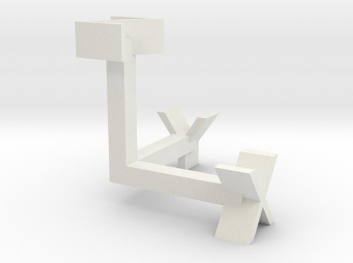XYZ 3d printed