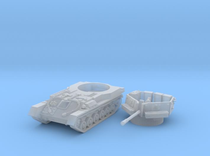 ZSU -37 tank (Russian) 1/144 3d printed