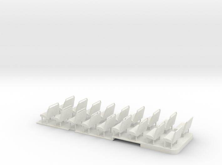 1:43 RF Green Line Floor & Seats 3d printed