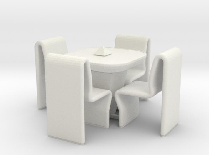Ten Forward Table Set (Star Trek Next Generation) 3d printed