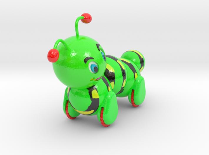 Full Caterpillar Assembly 3d printed