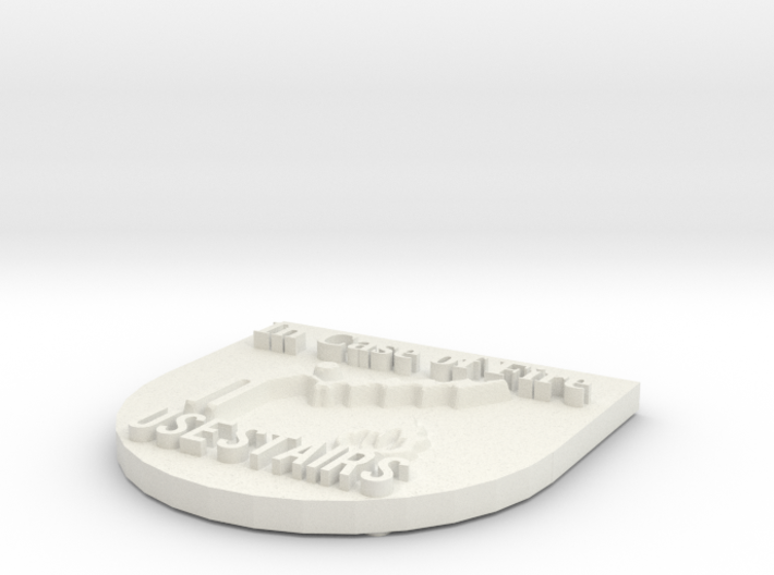In Case of Fire Use Stairs 3d printed