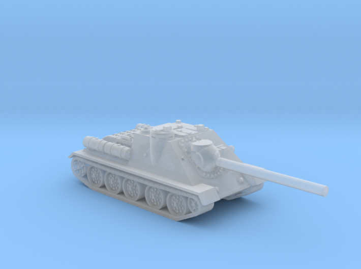SU-85 tank (Russia) 1/200 3d printed