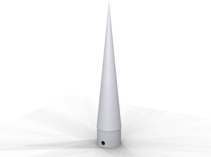 ASP Nose Cone BT50 scale 3d printed