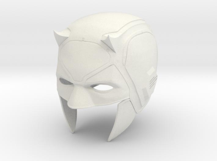 Daredevil: Netflix Season 1 cowl/helmet  3d printed