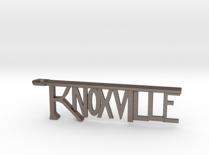 Knoxville Bottle Opener Keychain 3d printed