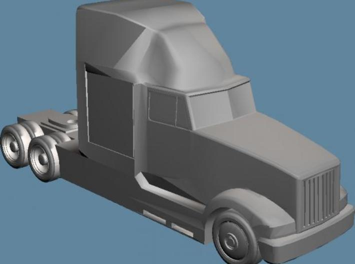 Tractor1 - Zscale 3d printed Front View