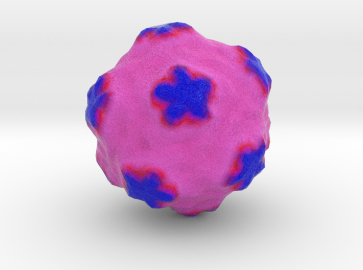 Satellite Tobacco Mosaic Virus 3d printed