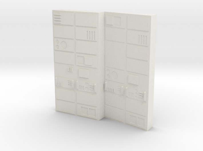 Computer Bank Type 1 Season 1 (Space: 1999), 1/30 3d printed