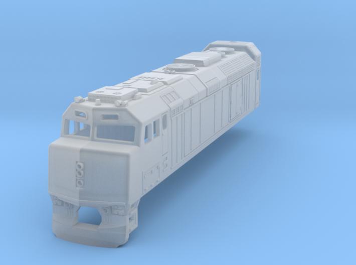 Via Rail F40 Locomotive 3d printed