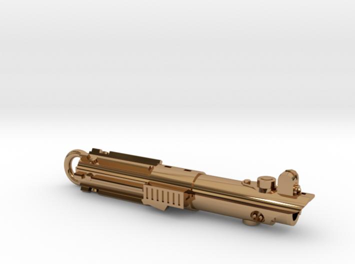 Graflex keychain - version 02 3d printed