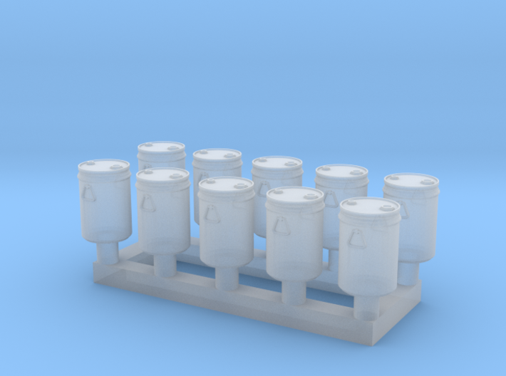 TJ-Z2015x10 - Futs 30l a bondes 3d printed