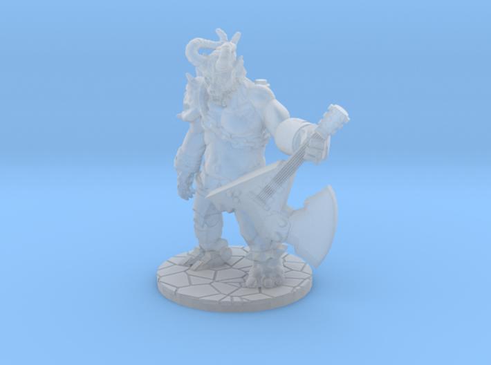 Metal Demon 3d printed