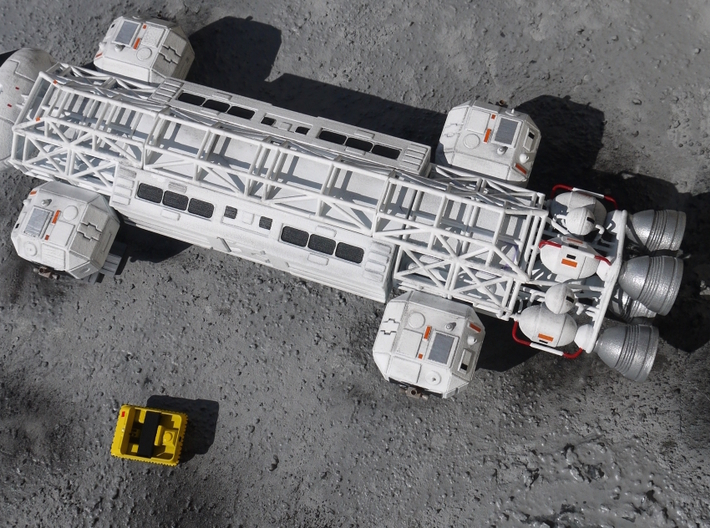 34 Cm COSMOS 1999 TUYERE ARRIERE 3d printed