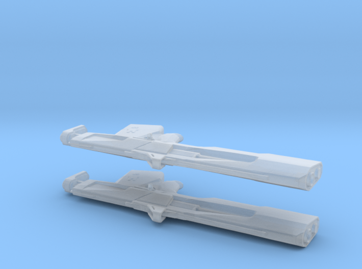 The Jade Rabbit (1:24 Scale) - 2 Pack 3d printed