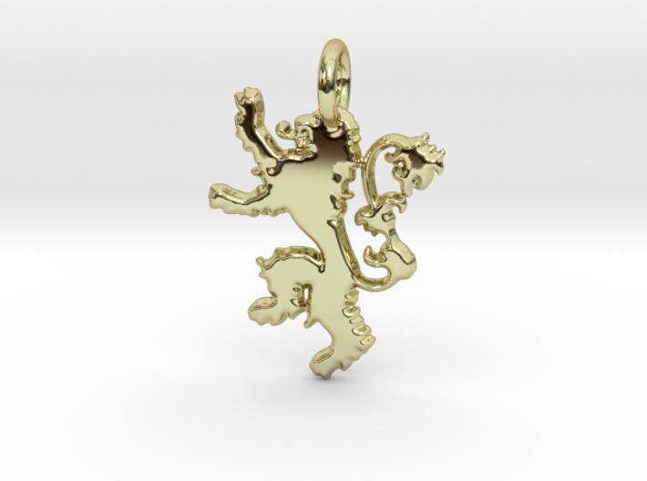 Lannister Sigil Keychain 3d printed